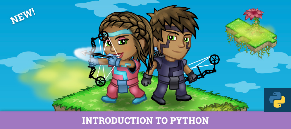 NEW! Learn Python in Jungle Run, Our First Home Python Course
