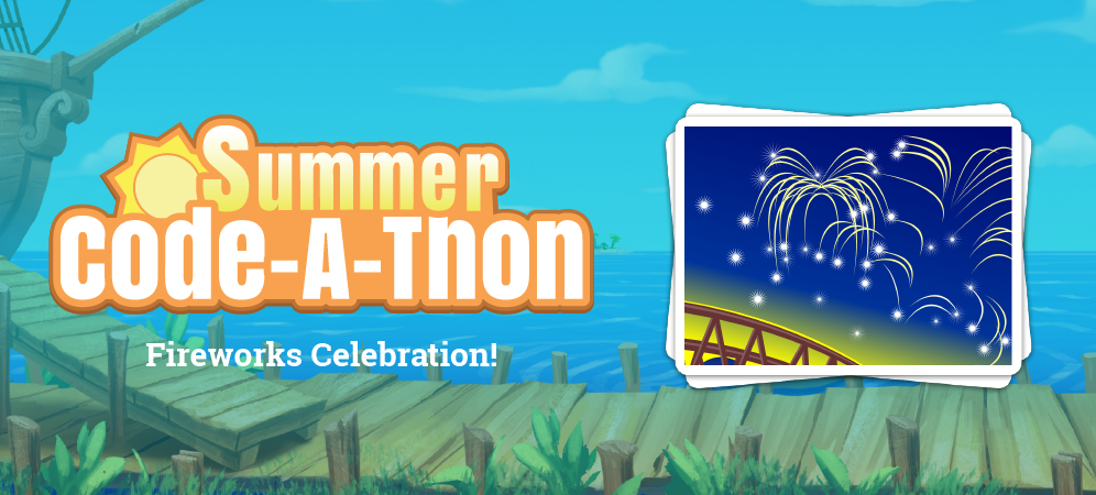 Week 4 Summer Code-A-Thon Challenge: Fireworks Celebration