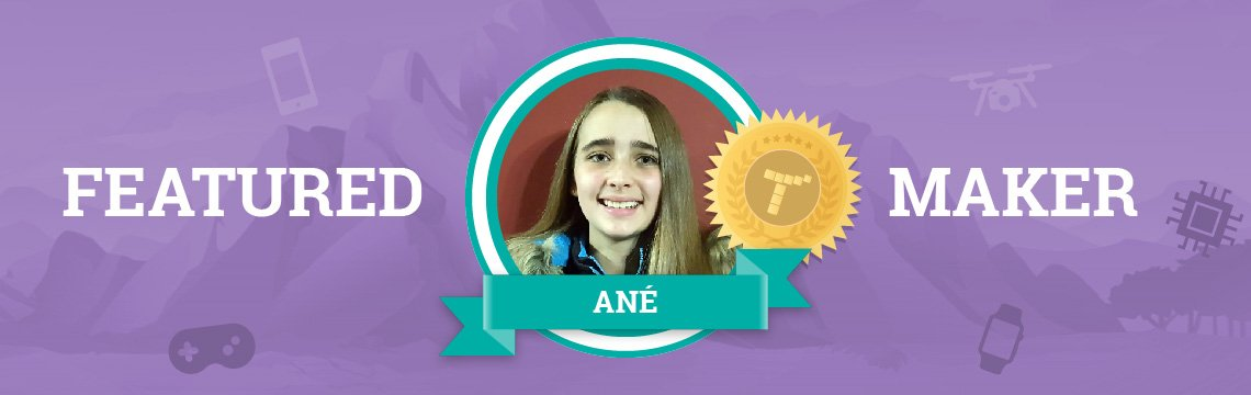 Coding Gives Ané a Greater Appreciation for the Games She Plays!