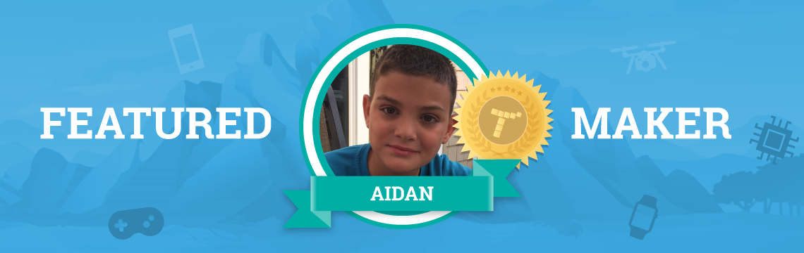 Aidan Uses Tynker to Get a Head Start on his CS PhD!