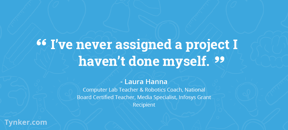 Laura Hanna Learns and Solves Problems Alongside Her Students