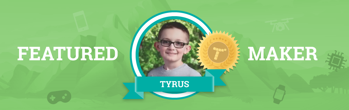Tyrus Taught His Older Sister How to Code!