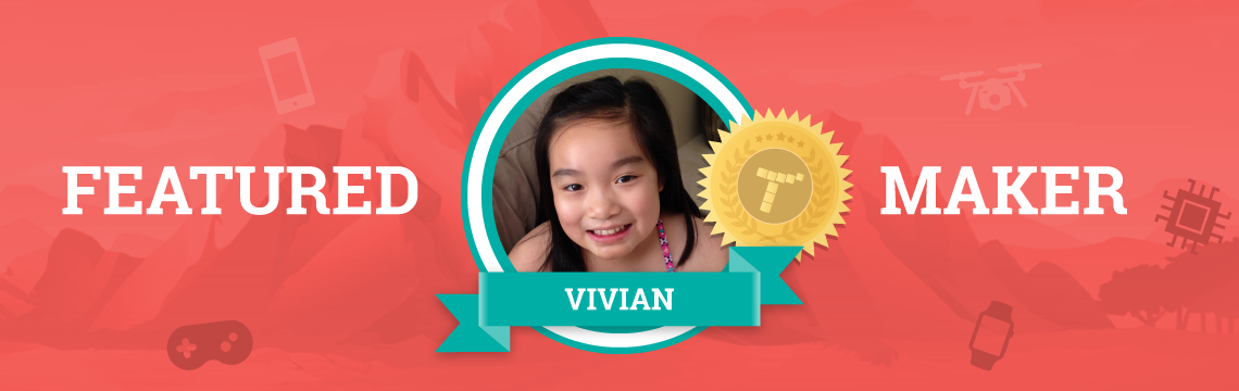 Vivian Gets Inspiration for Projects from Her Favorite Books!