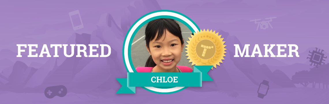 For Chloe, Coding is a Stress Reliever!