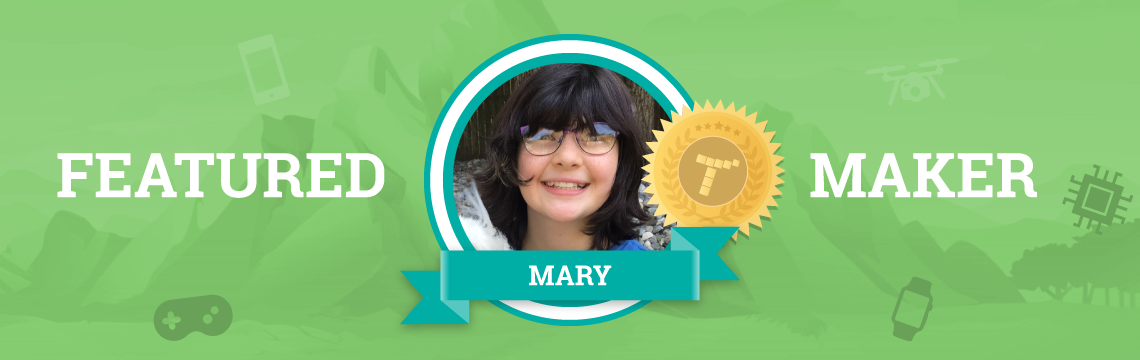 Meet Mary, Artist and Coder Extraordinaire!