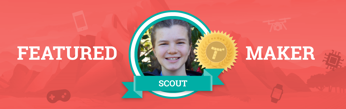 Between Tynker and Python, Scout is a Self-Taught Master!