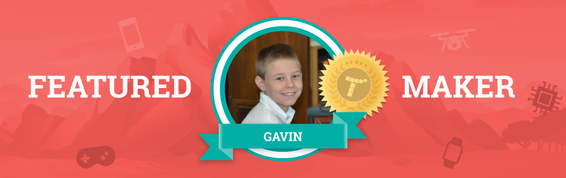 Gavin Loves Coding…And Treasure Hunting!