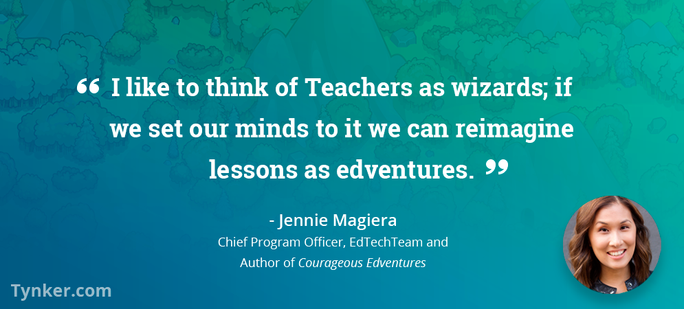 For Educator Jennie Magiera, Teaching is a Creative Art