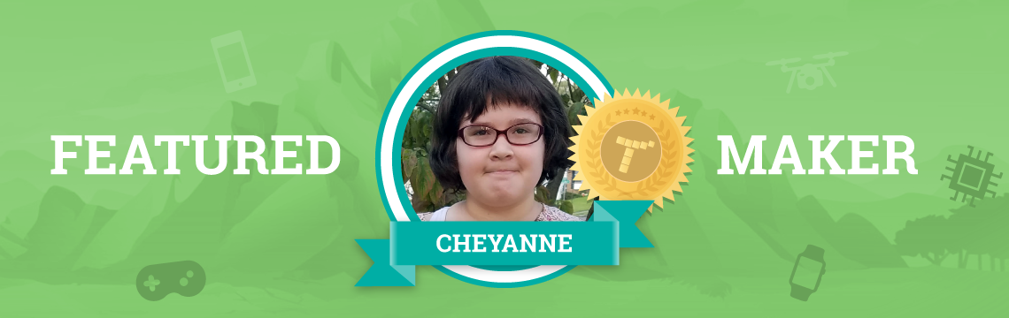 Cheyanne Loves Making Games!