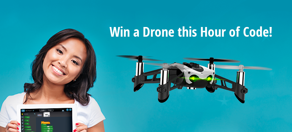 Win a Free Drone This #HourOfCode