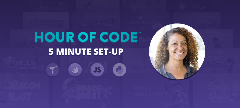 Set Up an Hour of Code for Your Class in 5 Minutes
