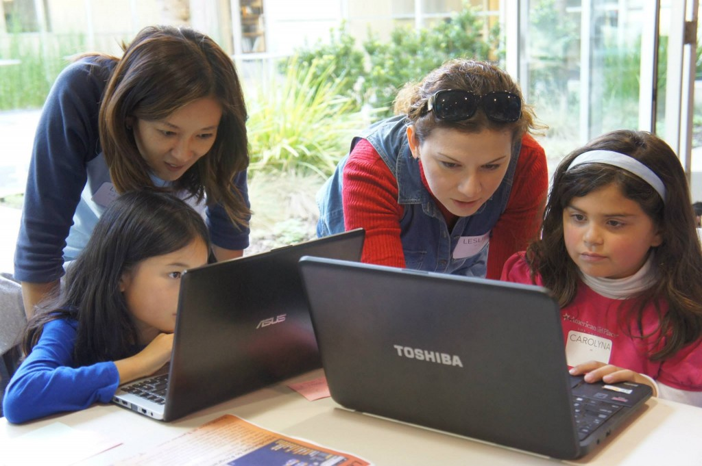Teachers Help Girls Code