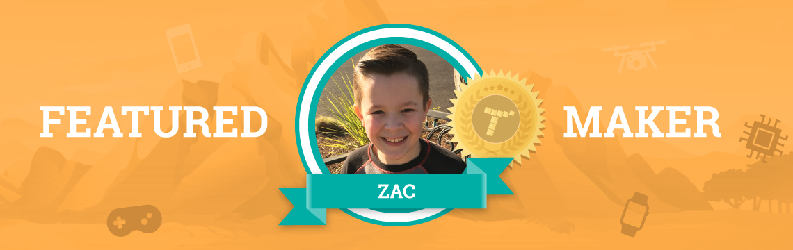 Zac Has Been Earning Tynker Time Every Day For Three Years!