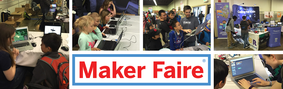 Tynkering with Minecraft and Drones at Maker Faire 2016