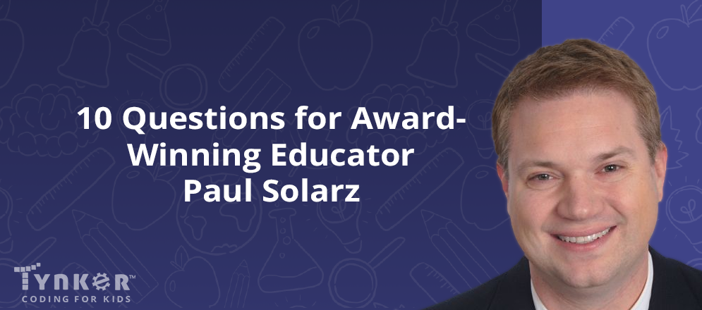 10 Questions for Educator and Author Paul Solarz