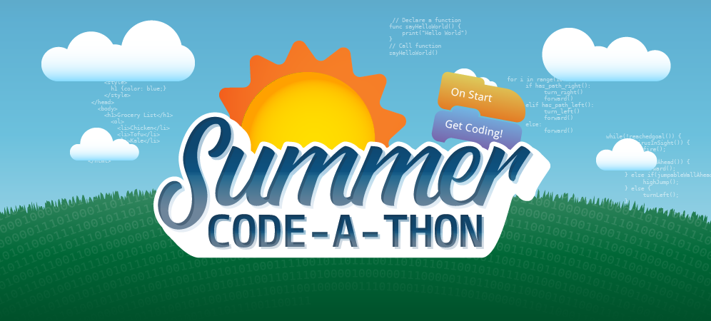 Code for Free with the 2018 Tynker Summer Code-A-Thon!