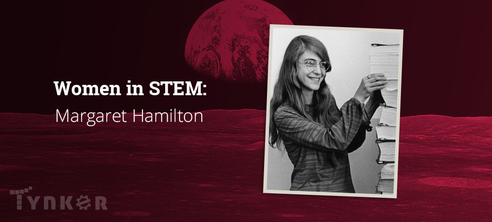 Margaret Hamilton, Lead Software Engineer for NASA's Apollo 11 Mission