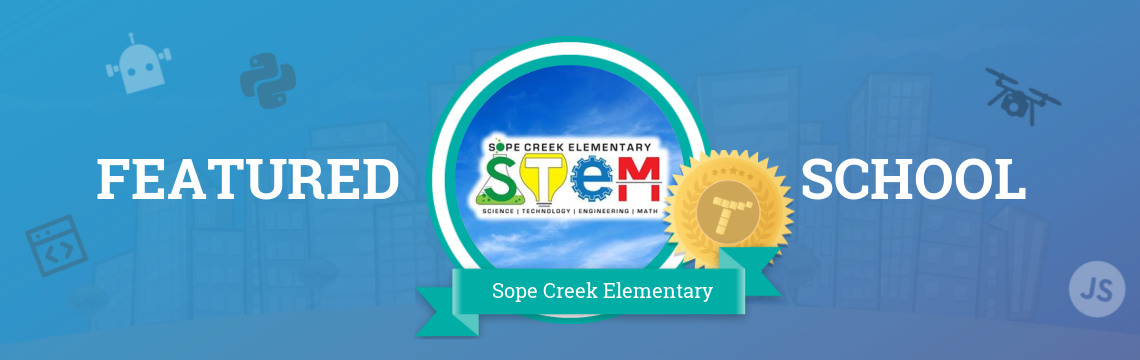 Sope Creek Elementary Empowers Students with STEM!