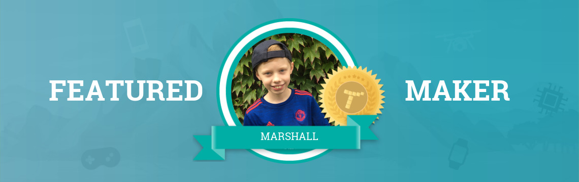 Marshall Advises Other Coders to Persevere!
