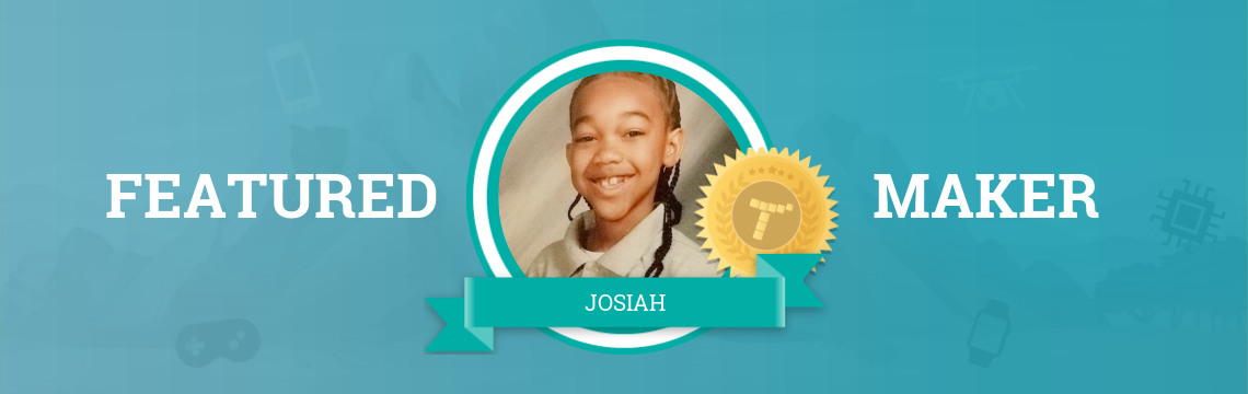 Josiah Gets a Head Start on His Game-Making Career!