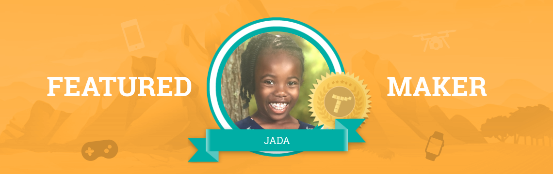Jada Tells a Story with Code!