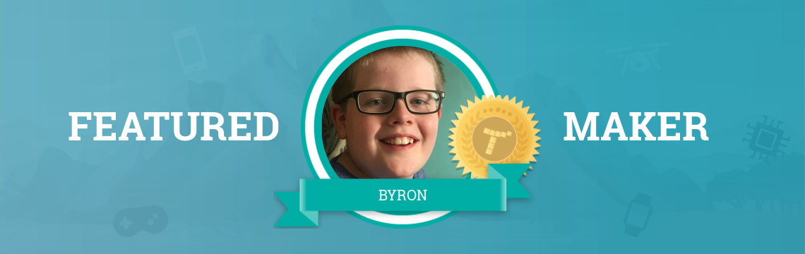 Byron Loves the Creative Freedom of Coding!