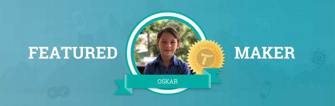 Oskar Competes with Code!