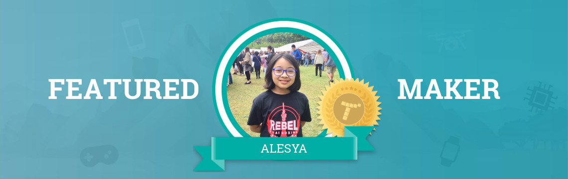 Alesya Gets Creative with Code!