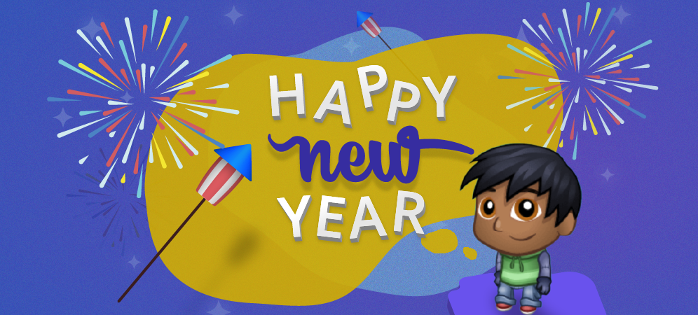 Teach Kids About New Year's Resolutions with Code!