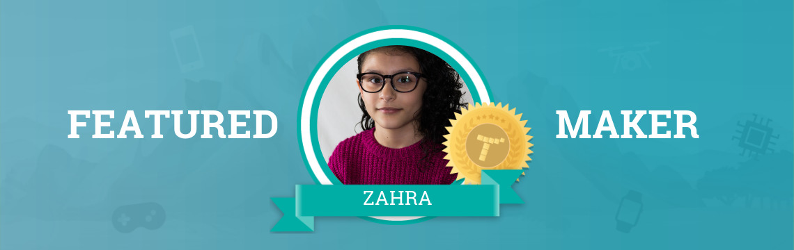 Zahra Manifests Her Imagination Through Code!