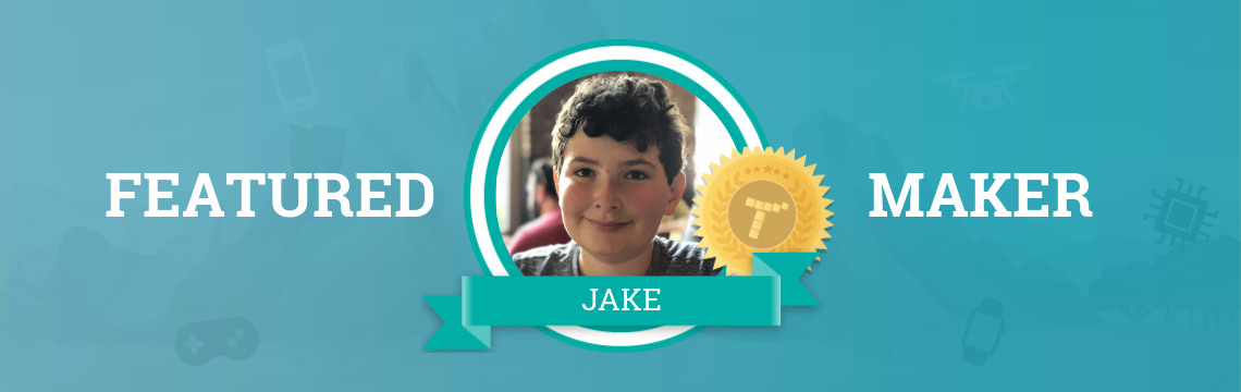 Jake is a Self-Taught Coder!