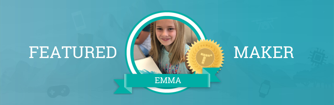 Emma Codes for Animals!