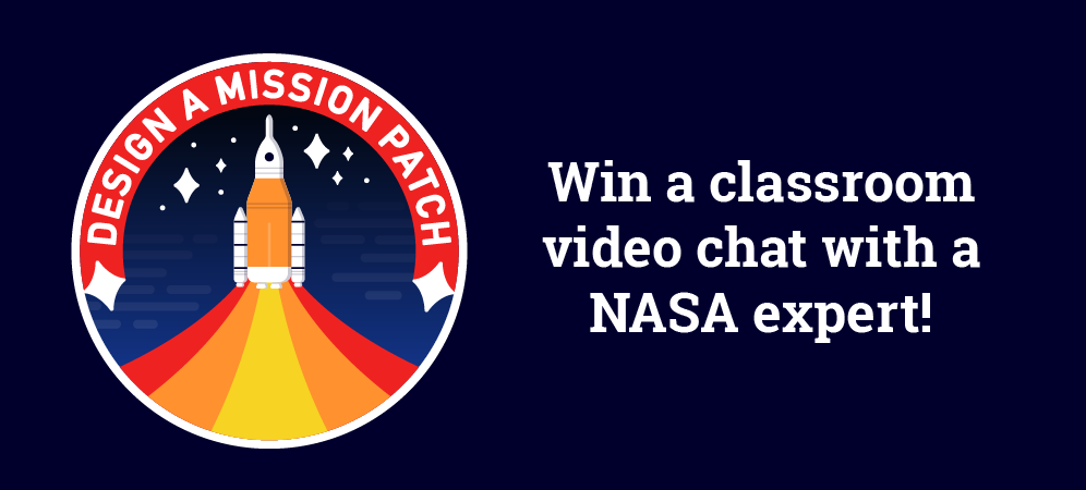 The Forward to the Moon Mission Patch Design Challenge