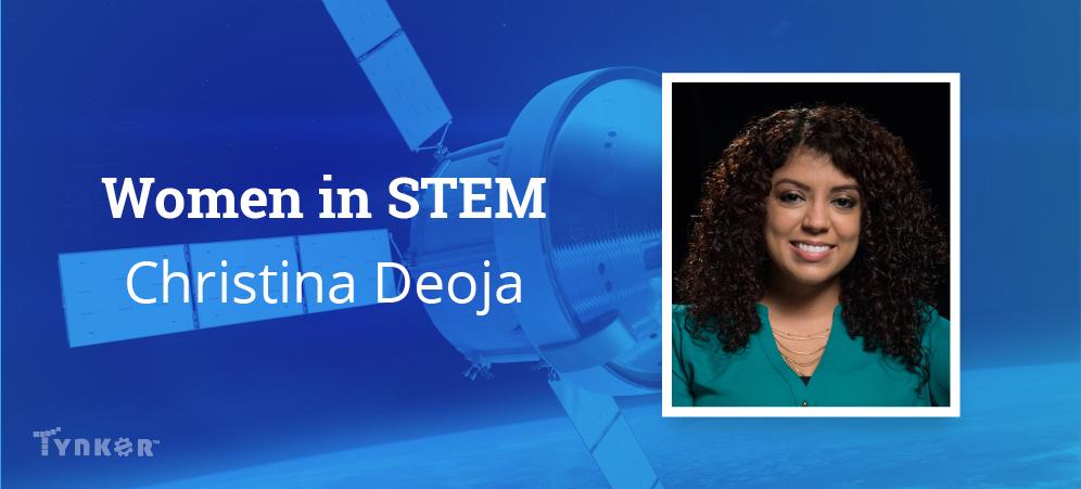 Christina Deoja Engineers with Creativity at NASA!