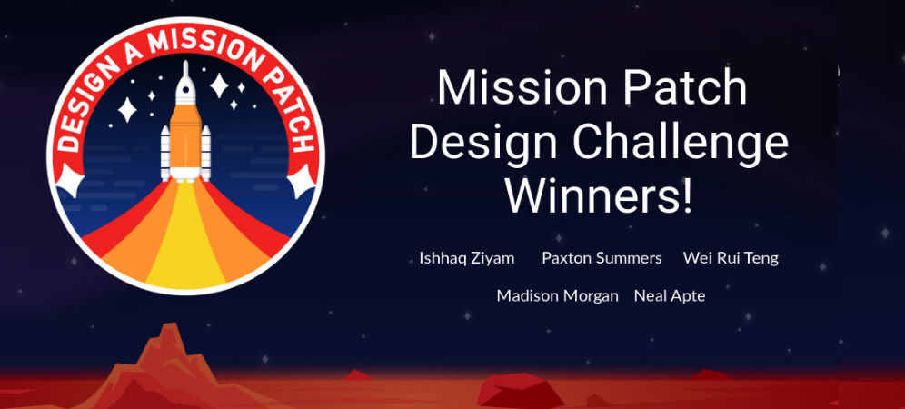 NASA and Tynker Mission Patch Design Challenge: The Winners