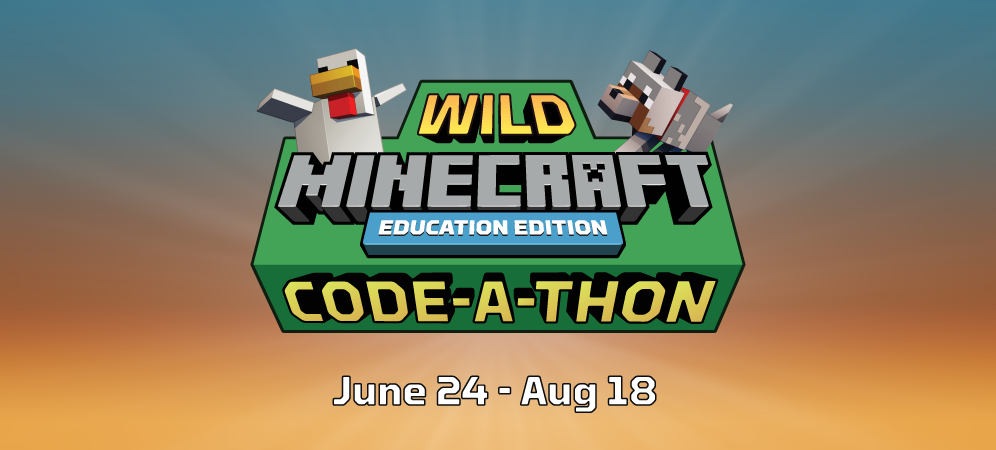 Announcing the Wild Minecraft Code-a-Thon!