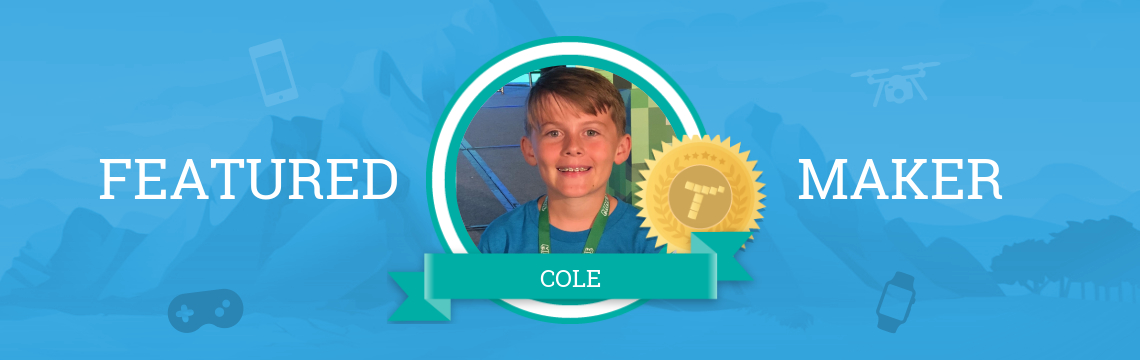 Cole Creates Worlds with Code!