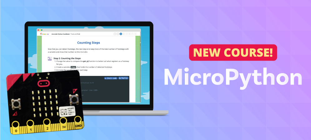 Learn to program micro:bit using MicroPython!
