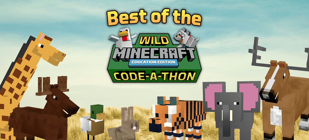 The Best of the Wild Minecraft Code-a-Thon
