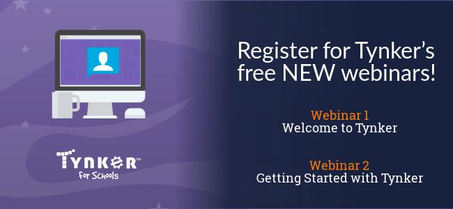 Explore Tynker's Free NEW Webinars!