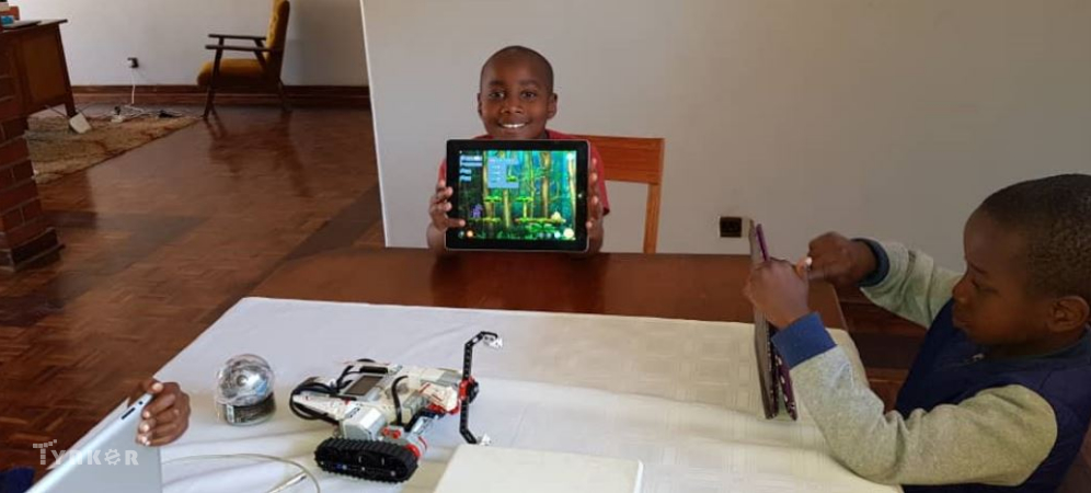 Coding for Kids in Zimbabwe