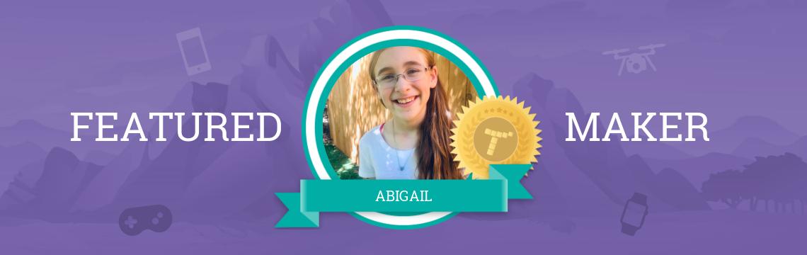 Abigail Tells Stories Through Code!