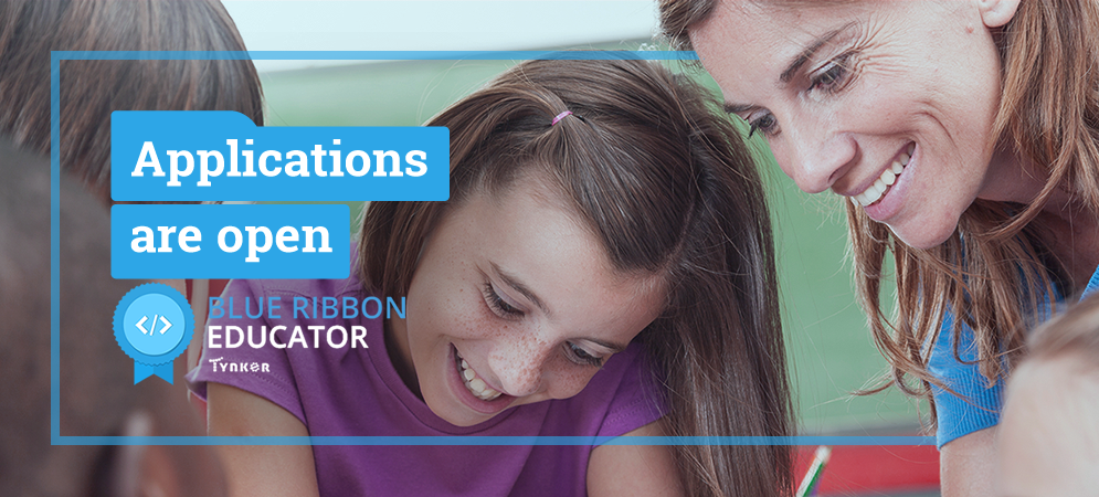 Tynker Opens Fall 2019 Applications for Blue Ribbon Educators