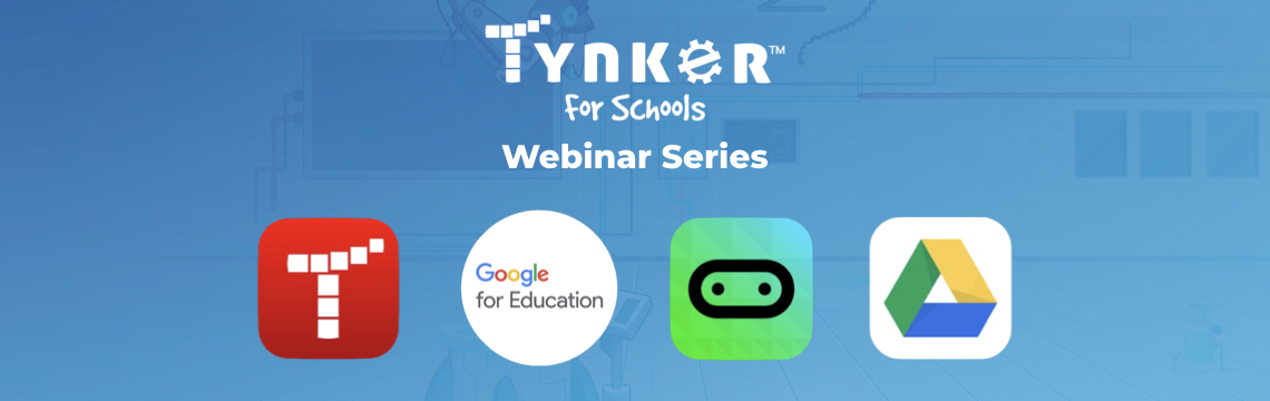 [Webinar Series] Code with Google and Tynker in Three Amazing Webinars!