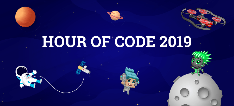 Hour of Code 2019: Get Ready to Blast Off!