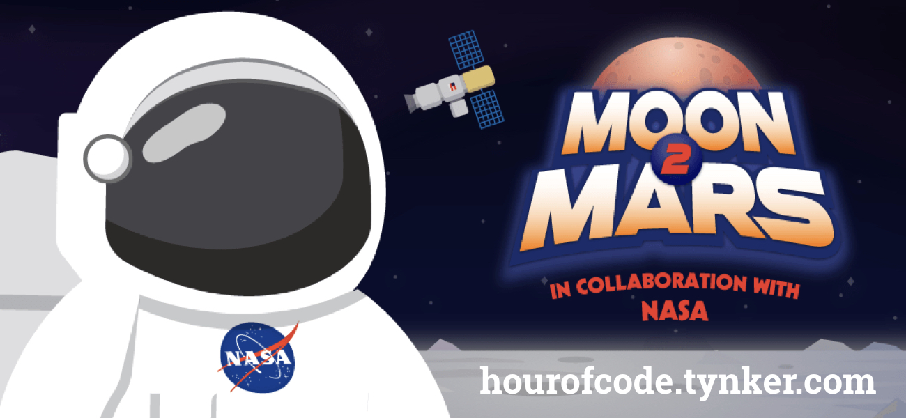 Have a Very NASA Hour of Code with Tynker