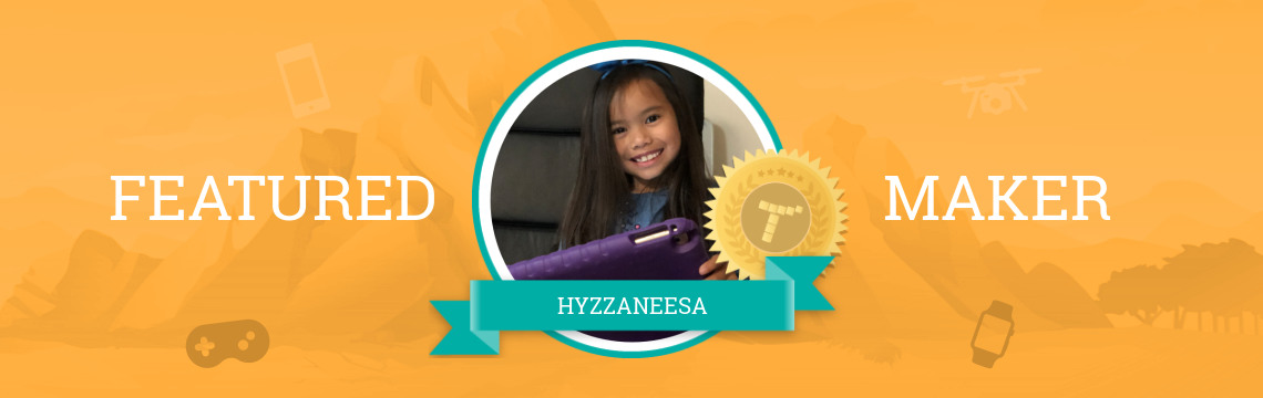 Featured Maker Hyzzaneesa:  Learning to Code with Rainbow Cookies!