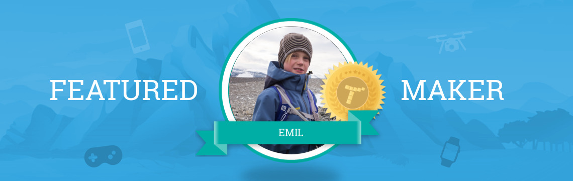 Featured Maker Emil Terraforms His Code