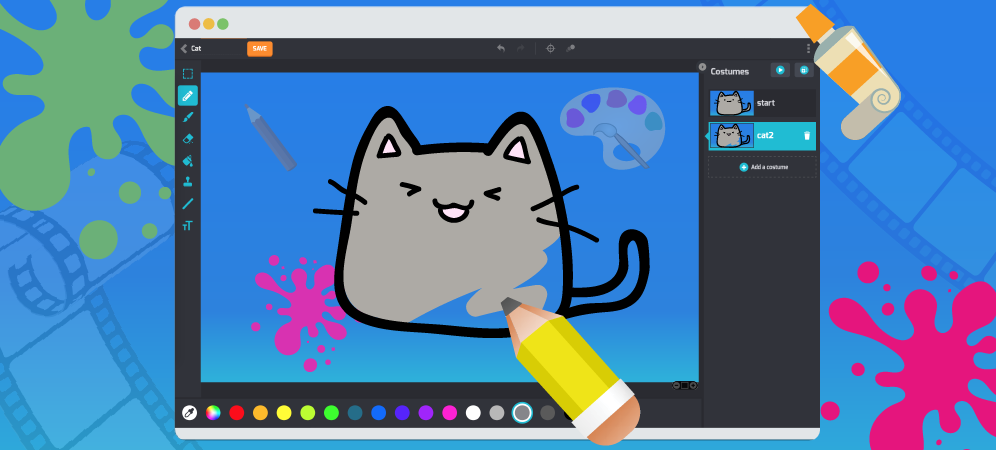 Tynker Lets Kids Create Art—with Code!