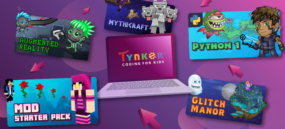 Tynker's Top 5 Coding Courses in April